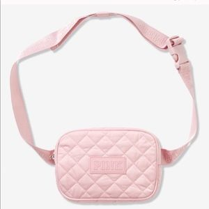 Pink waist belt bag